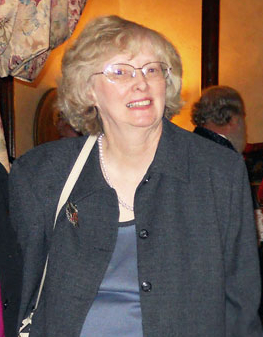 Photograph of Sue Ballew at Bliss Mansion