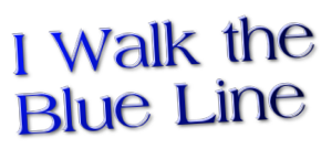 Logo for walking the Blue Line